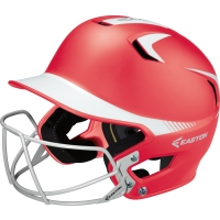Easton Z5 Grip Two Tone Fastpitch Batting Helmet w/ Facemask, JUNIOR