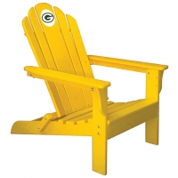 Green Bay Packers NFL Folding Adirondack Chair, YELLOW