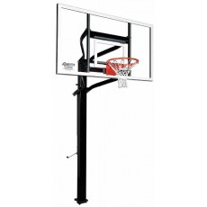 "Goalsetter X672 Extreme Series Outdoor Basketball Unit w/ 42"" x 72"" Glass Board"