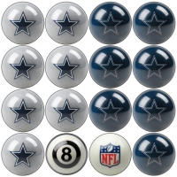 Dallas Cowboys NFL Home vs Away Billiard Ball Set