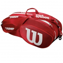 Wilson Team III 6 Pack Red Tennis Bag