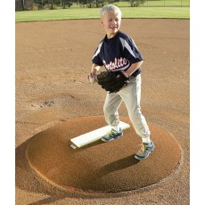 "Portolite 6672 Stride-Off Mound, 6""H x 5'3""L x 4'5""W, Clay"