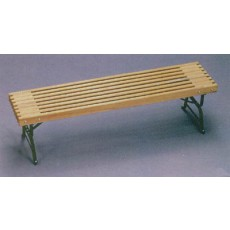 JA Cissel 3091X Natural Tennis Bench