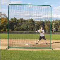 Deluxe Baseball/Softball Protective Screen Frame & Net, 10' x 10'