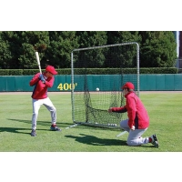 Baseball/Softball Batting Practice Frame & Net, 7' x 7'