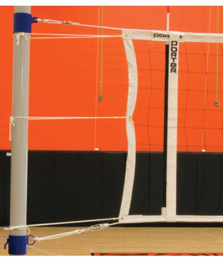 porter 02255 000 power volleyball net 32 39 x 39