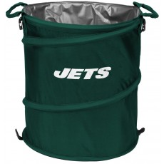 New York Jets NFL Collapsible 3-in-1 Hamper/Cooler/Trashcan