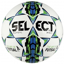 Select Jinga Futsal Ball, JUNIOR SIZE, White