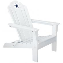 Dallas Cowboys NFL Folding Adirondack Chair, WHITE