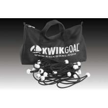 Kwik Goal 10B3509 Deluxe Bungee Soccer Net Fastener Pack, 180, Black