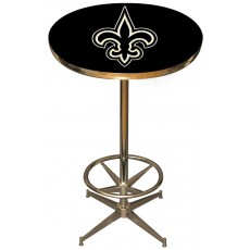 New Orleans Saints NFL Pub Table