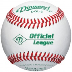 Diamond DOL-2 Official League Practice Baseball, dz