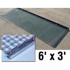 6' x 3' Baseball/Softball Infield Steel Drag Mat