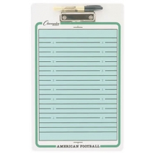 Champion Football Dry-Erase Coaching Board, CBFB