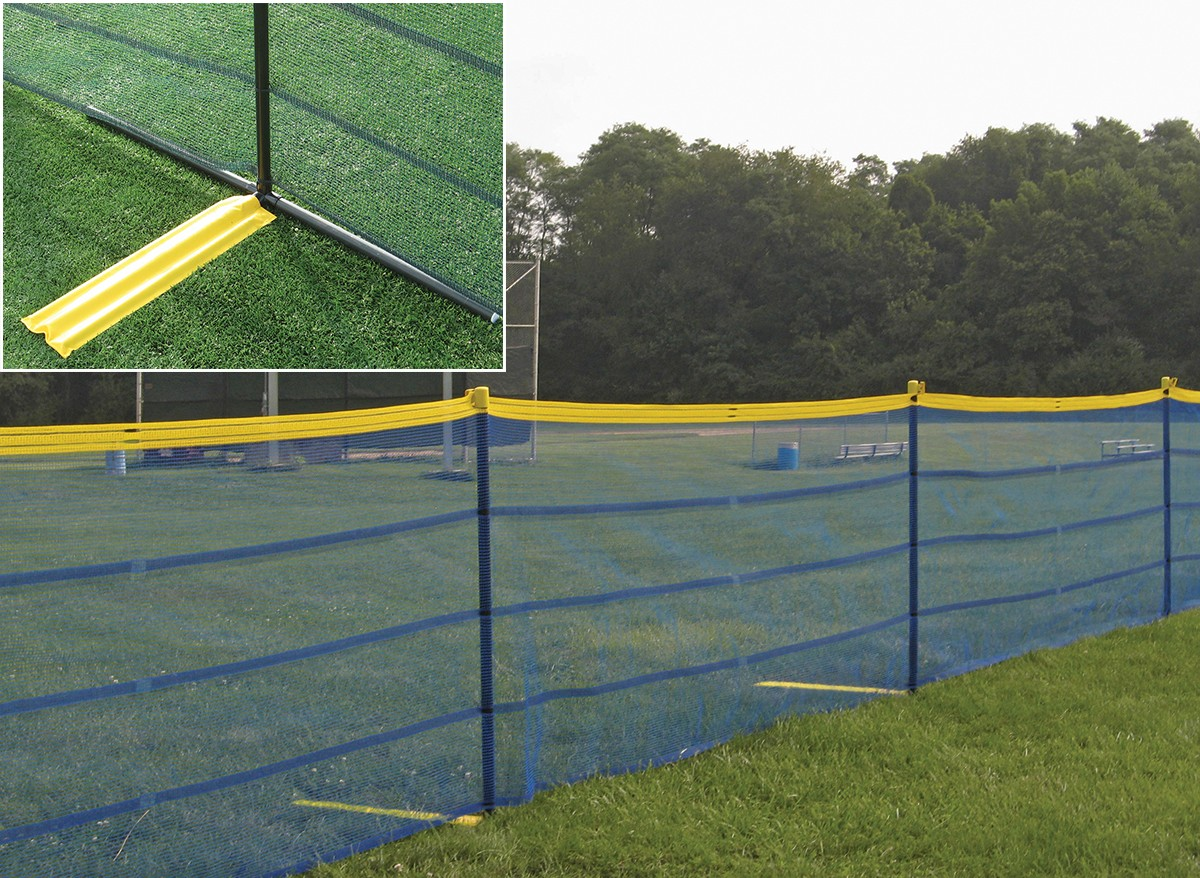 Grand Slam Above Ground Temporary Fence Package 150