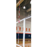 Porter 02296-100 Power-Line Volleyball Net Antennae, (pr)