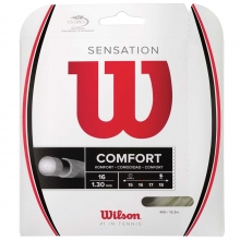 Wilson Sensation 16/1.30mm Tennis String, 40'