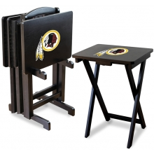 Washington Redskins NFL TV Snack Tray/Table Set