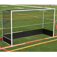 Jaypro OFHG7124 Official Field Hockey Goals w/ Bottom Boards (Pair)
