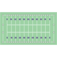 Proline Football Field Line Marking Kit