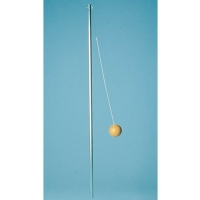 Jaypro One-Piece Semi-Permanent/Permanent Tetherball Pole