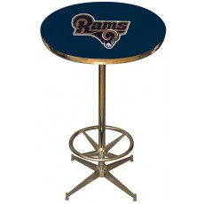 Los Angeles Rams NFL Pub Table