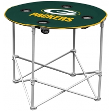 Green Bay Packers NFL Pop-Up/Folding Round Table
