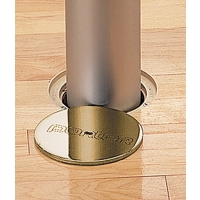 "Porter 00872-200, 3-1/2"" Floor Sleeve w/ Brass Cover Plate"