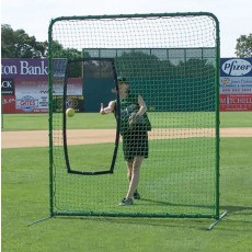 Jaypro SBPE-77 Collegiate Fastpitch Softball Protective Screen, 7' x 7'