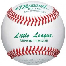 Diamond DLL-1MC Little League Mid Compression Baseballs, dz