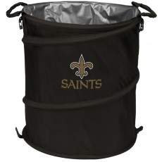 New Orleans Saints NFL Collapsible 3-in-1 Hamper/Cooler/Trashcan