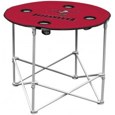 Tampa Bay Buccaneers NFL Pop-Up/Folding Round Table