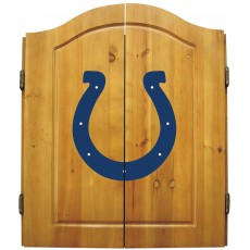 Indianapolis Colts NFL Dartboard Cabinet Set