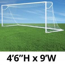"Jaypro Nova Club Goals, Round, 4'6""H x 9'W (pair)"