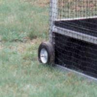 Goal OFHW Wheel Kit for Official Field Hockey Goals
