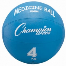 Champion 4 Kilo / 9 lb.Rubber Medicine Ball,  RMB4