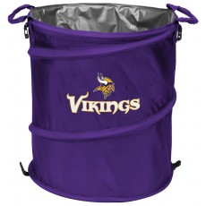 Minnesota Vikings NFL Collapsible 3-in-1 Hamper/Cooler/Trashcan