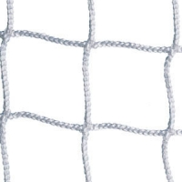 Kwik Goal 3B1621 Official Soccer Nets, 3mm, WHITE, 8' x 24' (pr)