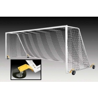 Kwik Goal 2B3406SW Evolution EVO 2.1 Soccer Goals w/ SWIVEL WHEELS, pair