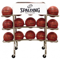Spalding 68-452 Replica Pro Basketball Ball Rack