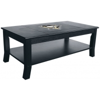 Pittsburgh Penguins NHL Hardwood Coffee Table