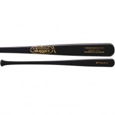 Louisville Slugger C271 Select Maple Wood Baseball Bat, Black, WTLW7M271B17