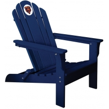 Chicago Bears NFL Folding Adirondack Chair, NAVY