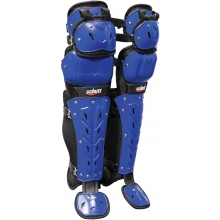 Schutt Air Maxx Scorpion Triple Flex Catcher's Leg Guards, 17""