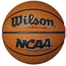 "Wilson NCAA Street Shot Basketball, MEN'S, 29.5"""