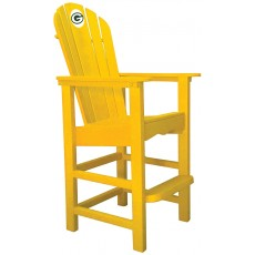 Green Bay Packers NFL Outdoor Pub Captains Chair, YELLOW