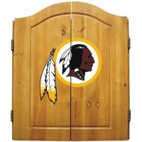 Washington Redskins NFL Dartboard Cabinet Set