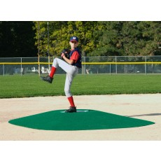 "True Pitch 202-8 Portable Baseball Pitcher's Game Mound, 10'L x 8'W x 8""H"