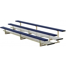 3 Row, 21' STANDARD Powder Coated Bleacher