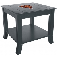 Chicago Bears NFL Hardwood Side/End Table